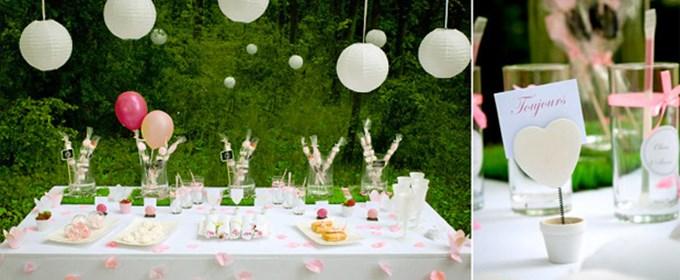 d corations fleurs une d coration de saison le site du mariage. Black Bedroom Furniture Sets. Home Design Ideas