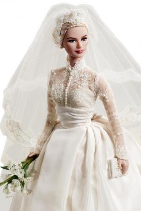 Le site du mariage barbie accueille grace kelly en - Barbie mariee ...