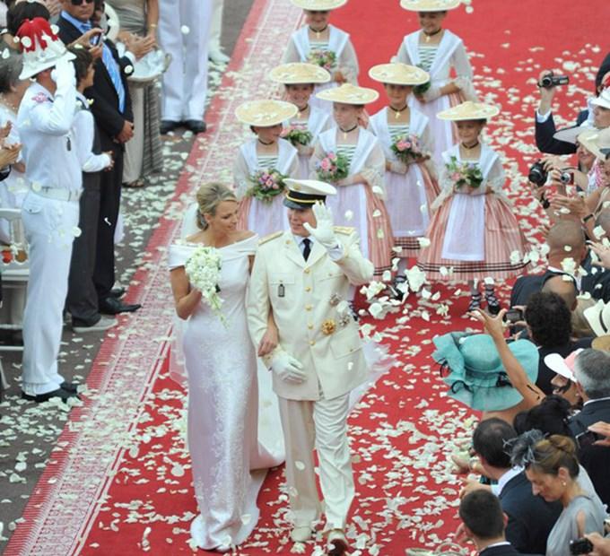 le site du mariage : Le mariage religieux d'Albert et Charlène - le ...