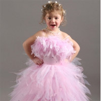 Robe petite fille mariage champetre
