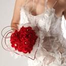 Symbolique bouquet de mariée