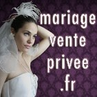 Mariage vente privée