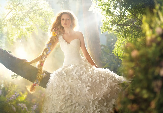 Disney Fairytales by Alfred Angelo, Rapunzel