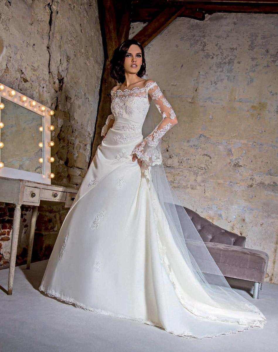 Robe de soiree empire du mariage