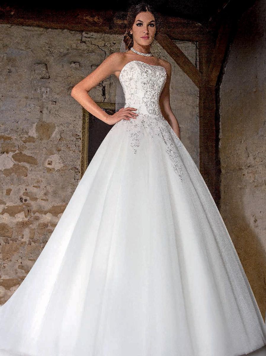 Les robe empire mariee