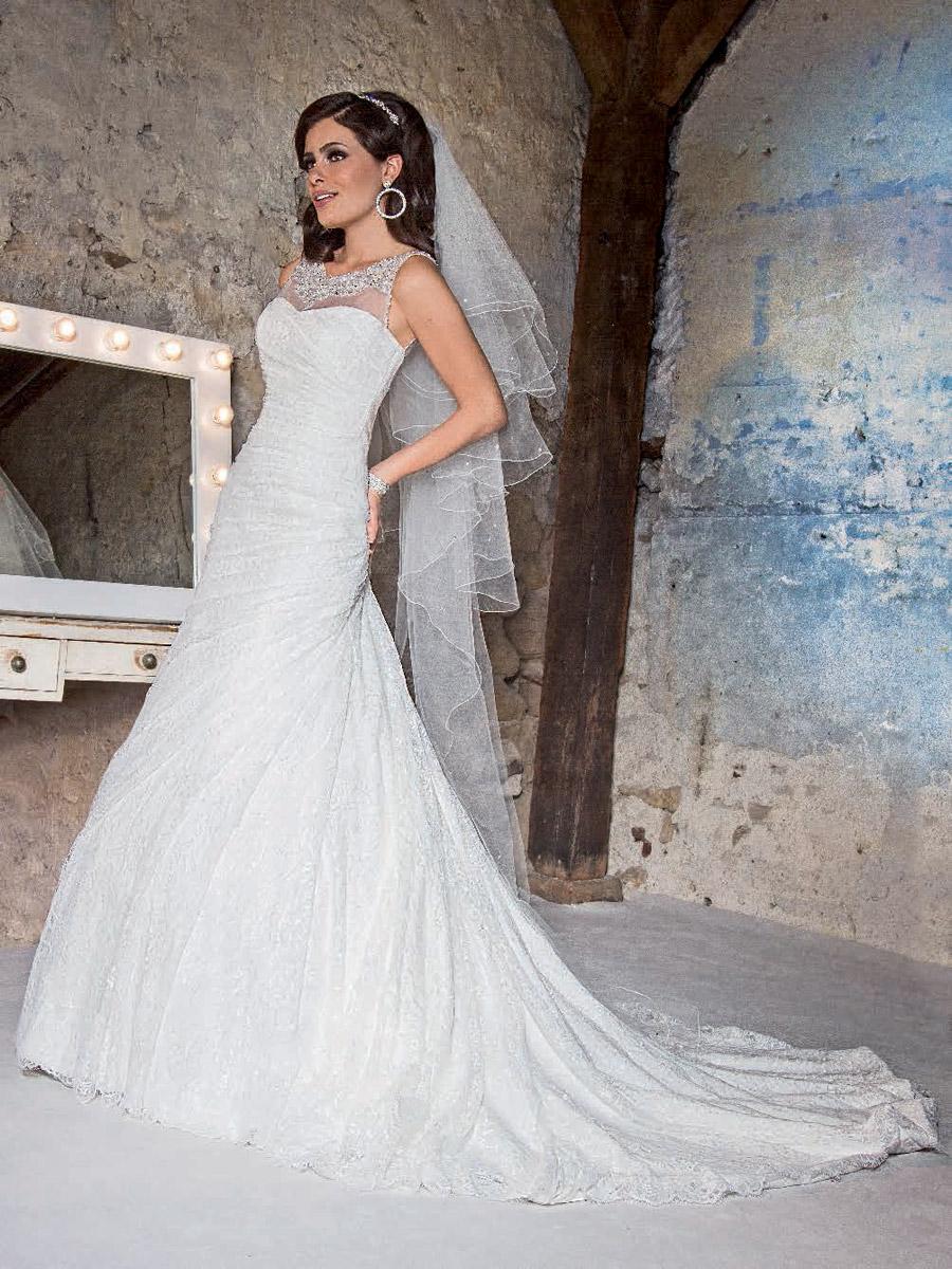 Robe de soiree empire du mariage paris  Élégant Robe de Mariée