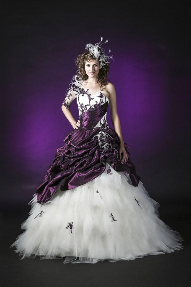 Elysa Bridal, B3323-Clematis