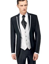 empire du mari collection 2015 modle kevin bicolore 3 pices - Costume Mariage Homme 3 Pieces