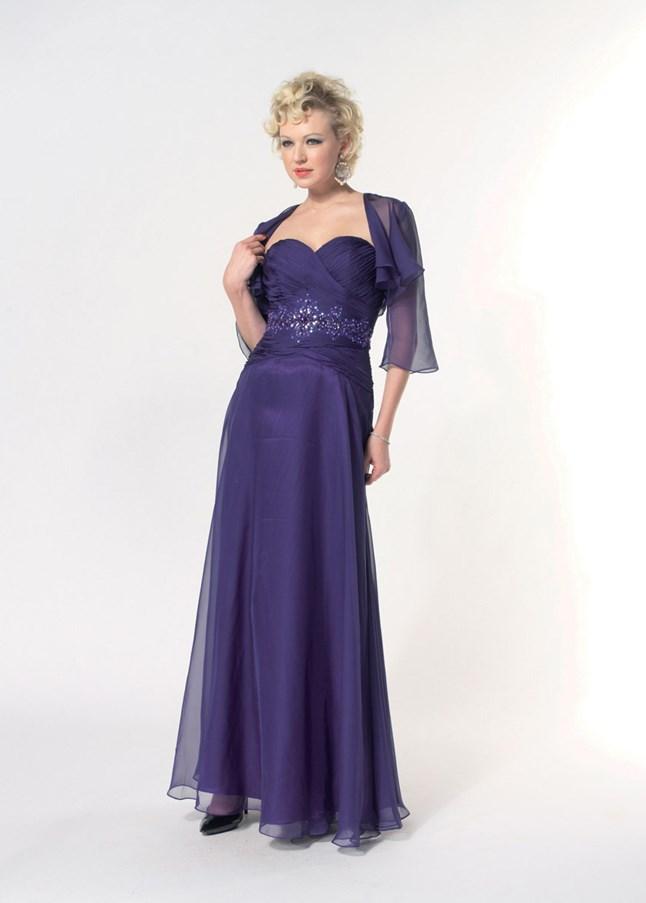 First Lady, Yolanda bleu marine violet