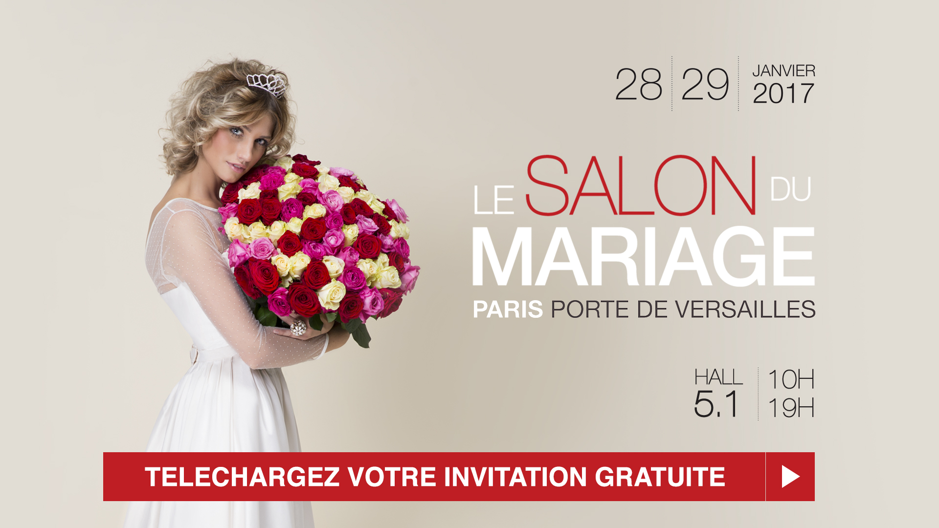 Salon du mariage paris les 28 et 29 janvier 2017 for Salon airsoft 2017 paris